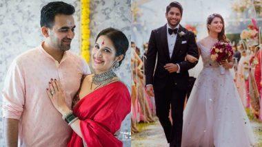Celebrity Weddings 2017: Zaheer Khan-Sagarika Ghatge, Samantha-Naga Chaitanya & Other High-Profile Couples Who Married This Year