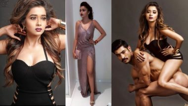 Tina Datta Goes Bold and Badass: Posing with Nude Model to Rocking Thigh-High Slit Gown, Uttaran Actress Does it All