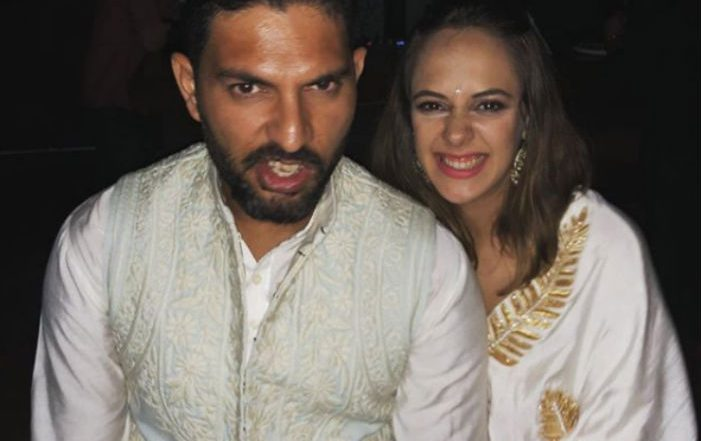 Yuvraj Singh & Hazel Keech Put up Super Adorable Posts for Each Other on Their Second Marriage Anniversary (See Pics)