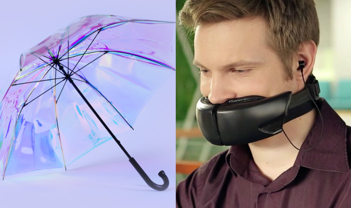 Hushme Voice Mask, Electric Mousetrap & Other Absolute Weirdest Gadgets of 2017
