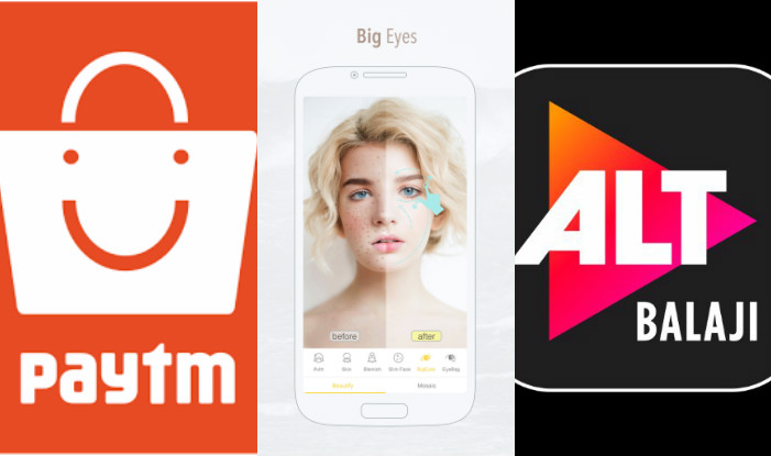 Photo Editor, Selfie Camera & Other Most Downloaded Apps on Google Play in India