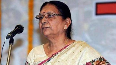 Anandiben Patel Appointed as Madhya Pradesh Governor in Addition to UP Charge by President Ram Nath Kovind