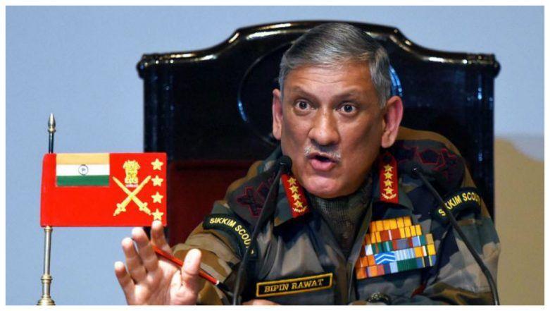 Army Chief General Bipin Rawat to Visit Sri Lanka Tomorrow for Strong Military Ties