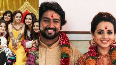 Bhavana and Naveen's Wedding Album: View All the Pictures From Mehendi and Marriage Rituals