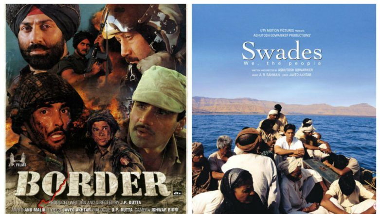 Patriotic Movies To Watch on This Republic Day: Border, Swades and Other Films to Re- Ignite Patriotism