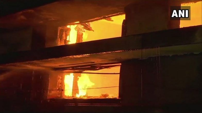 Mumbai: Fire Breaks Out at Building Near Ganesh Temple in Dharavi