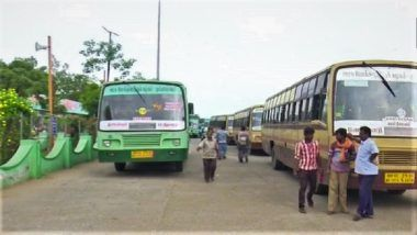 Tamil Nadu Bus Strike Enters 7th Day, CM Edappadi K.Palanisamy Requests Transport Unions to Withdraw Protest