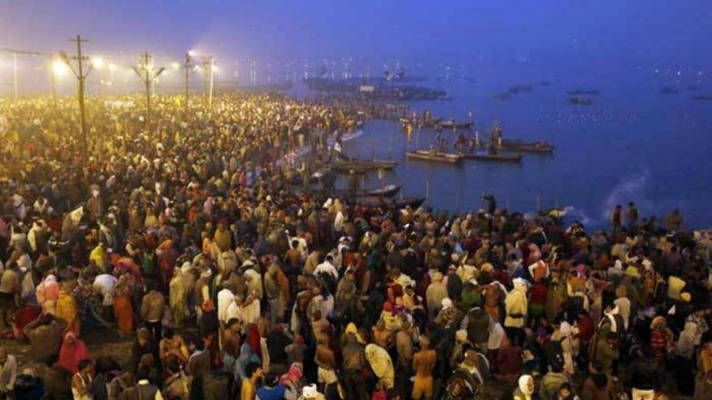 Mahashivratri 2019: Devotees Take Holy Dip in River Ganga on Last Shahi Snaan of Prayagraj Kumbh Mela