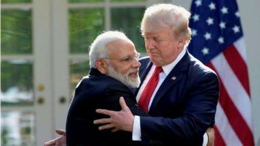 Donald Trump, US President, Congratulates Narendra Modi for Victory in Lok Sabha Elections 2019, Says 'Look Forward to Continuing Our Important Work Together'