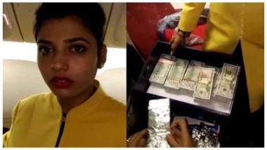 Jet Airways Air Hostess Arrested for Smuggling USD 4,80,200 Wrapped in Aluminium Foil