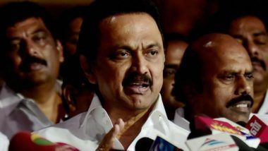 Chennai Woman Dies After an AIADMK Banner Falls on Her, MK Stalin Says It is Due to 'Negligence of Government And Inefficient Police Officers'