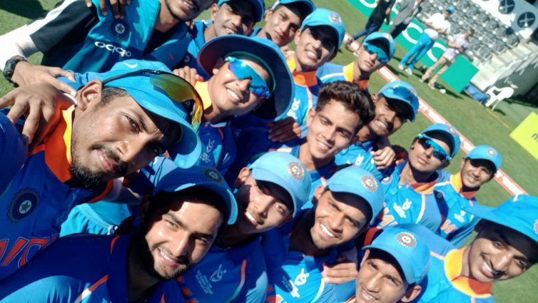 India Beat Pakistan to Enter ICC U-19 World Cup Final 2018: Here is Indian Team's Road to Quest of Fourth ICC U-19 Cricket WC Title