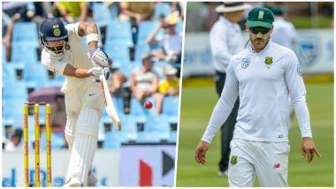 India vs South Africa 2018 Video Highlights, Third Test Day 1: India Bowled Out for 187, South Africa 6/1 at Stumps