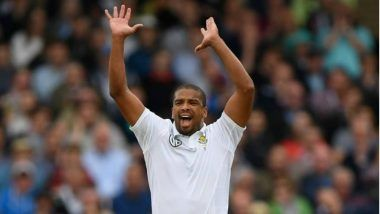 Vernon Philander Fined 15% Match Fees for Breaching ICC's Code of Conduct