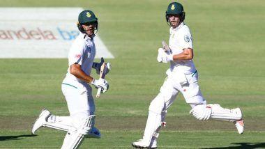 Live Cricket Streaming of PAK vs SA on SonyLIV and PTV Sports: Check Live Cricket Score, Watch Free Telecast of South Africa vs Pakistan 1st Test Day 3 Match on TV & Online