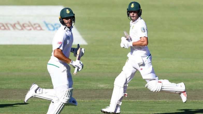 Live Cricket Streaming of PAK vs SA on SonyLIV and PTV Sports: Check Live Cricket Score, Watch Free Telecast of South Africa vs Pakistan 1st Test Day 3 Match on TV & Online