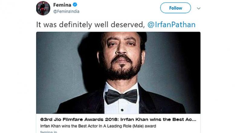 63rd Jio Filmfare Awards 2018 – Latest News Information