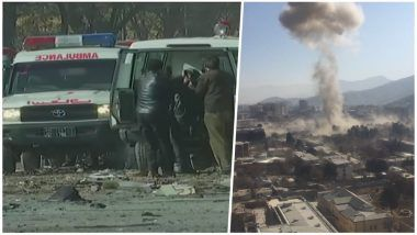 Taliban Claims Responsibility Kabul Truck Bomb Attack, Warns of More