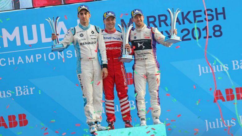 Mahindra Racing Makes India Proud at Marrakesh: Felix Rosenqvist Wins Formula E Championship Race