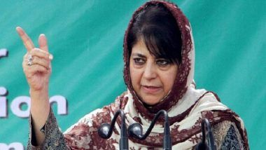 Mehbooba Mufti Says Authorities Lying About Jammu and Kashmir Situation