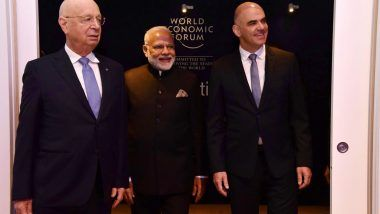 Narendra Modi at World Economic Forum, Davos: Indian PM Delivers Spirited Speech; Highlights & Key Pointers