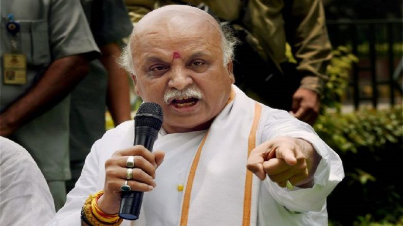 Ayodhya Verdict Out: Ex-VHP Leader Pravin Togadia Says Govt Should Now Build Temple at Ram Janmabhoomi