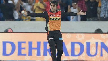 IPL 2018 Diaries: SRH Bowler Rashid Khan Dancing to Kala Chashma Song is a Must Watch Video