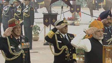Republic Day: PM Modi Pays Tribute at Amar Jawan Jyoti
