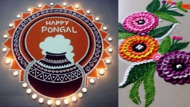 Rangoli Designs For Makar Sankranti & Pongal: How to Make Easy And Colourful Patterns