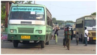 Tamil Nadu's Bus Strike: Untrained Driver Rams Bus Into Roundabout
