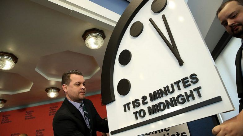 Doomsday Clock Stays at Two Minutes to Midnight – 'New Abnormal' of Imminent Risk of Nuclear War