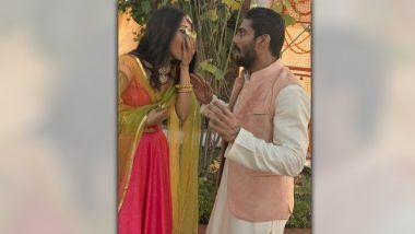 Prateik Babbar Gets Engaged to Girlfriend Sanya Sagar in Lucknow