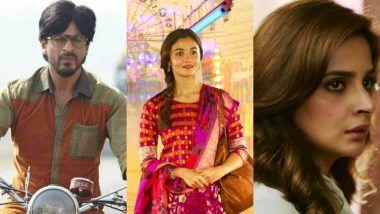 63rd Filmfare Awards Nominations: Shah Rukh Khan, Alia Bhatt