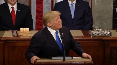 Watch US President Donald Trump's State of The Union Address Live Streaming: Listen to Trump's First SOTU Speech Online