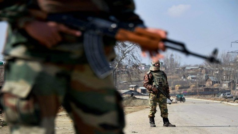 Jammu And Kashmir: 1 Indian Army Soldier Martyred, Another Injured in Terrorist Attack an 42 RR Camp at Tral
