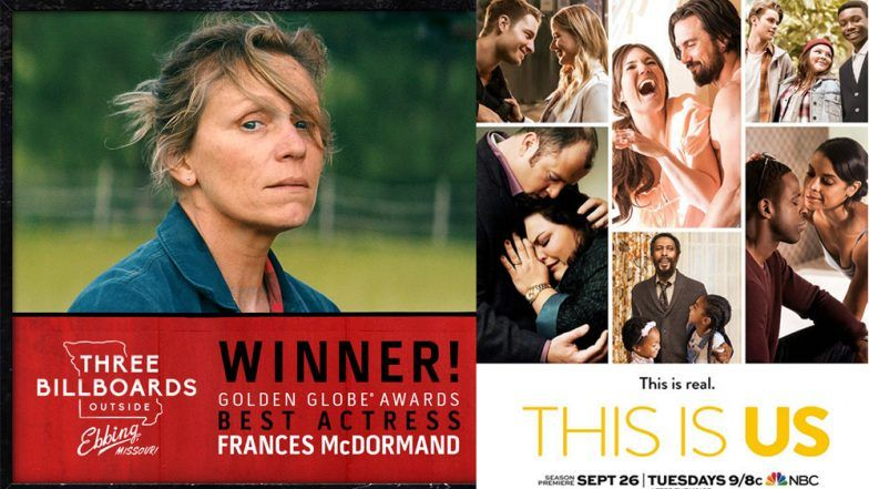 SAG Awards 2018 Winners List: Three Billboards, This Is Us And More Win Big at the Women- Centric Felicitation Ceremony
