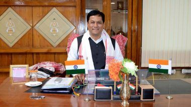 Rajya Sabha Bypolls 2021: Union Minister Sarbananda Sonowal Likely To Be Elected to RS From Assam Unopposed As Opposition Parties Not to Field Candidate Against Former CM