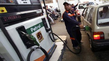 Fuel Rates Marginally Slashed, Petrol in Mumbai at Rs 86.91/Litre & Diesel at Rs 79.22/Litre in Chennai