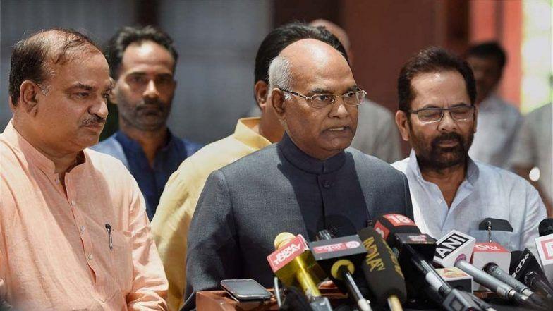 UP Set to Become a Trillion-Dollar Economy, Says President Ramnath Kovind