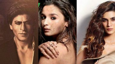 Dabboo Ratnani Calendar 2018: Shah Rukh Khan, Alia Bhatt, Kriti Sanon and Others Sizzle in Photographer's Latest Captures