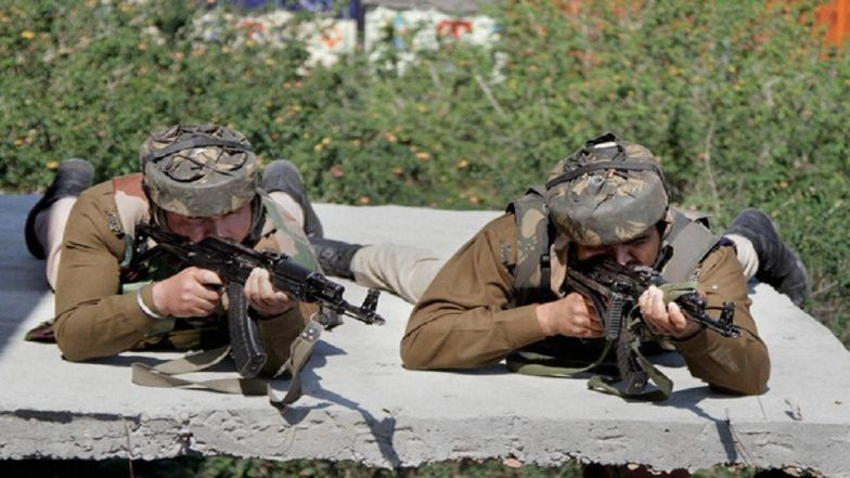 J&K Encounter Update: Three JeM Terrorists, Including Mastermind of Pulwama Attack, Killed, Five Indian Army Personnel Martyred