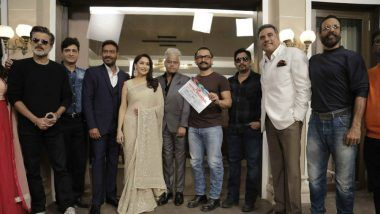 Aamir Khan Gives The Mahurat Clap For Total Dhamaal As Madhuri Dixit, Anil Kapoor, Ajay Devgn Kickstart The Shoot