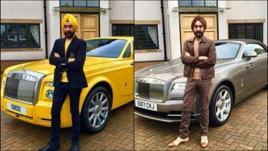 This Sikh Man From London Matched His Turban With Rolls Royce for Seven Days!
