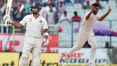 Virat Kohli Can Dethrone Steve Smith As No 1 Ranked Test Batsman! But Bhuvneshwar Kumar Has Better Batting Record Than His Captain in England