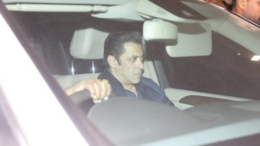 RIP Sridevi: Salman Khan Arrives at Boney Kapoor's House - View Pics