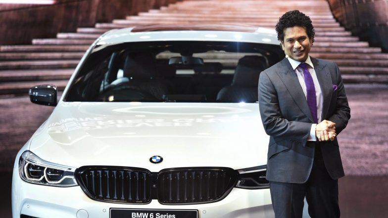 BMW Unveils Electric Car i3s & Hybrid Vehicle i8 Roadster at Auto Expo 2018, Sachin Tendulkar Launches BMW's 6 Series Gran Turismo