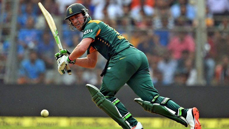 AB de Villiers Returns to South Africa Squad for Remaining ODIs Against India