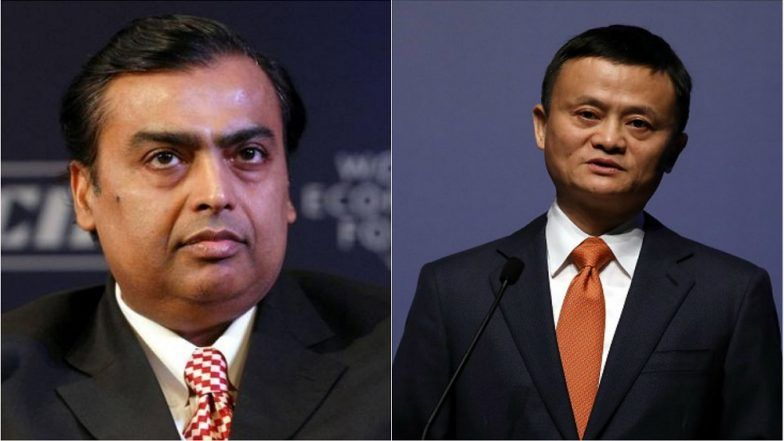 Mukesh Ambani Topples Alibaba's Jack Ma to Become Asia's Richest Person As RIL Shares Surge