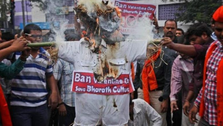 Banning Valentine's Day: A Common Agenda For Bajrang Dal and Its Most Bitter Adversary — Pakistan