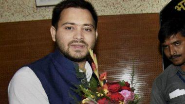 Tejashwi Yadav Returns: 'Missing' RJD Leader Surfaces on Twitter After Undergoing Treatment for Knee Injury